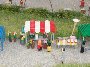 Miniature Food Stalls, I love this!