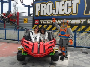 One of the rides that we did, and it was fun!