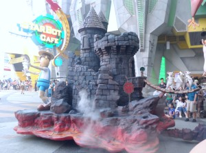 Part of the the Hollywood Dreams Parade