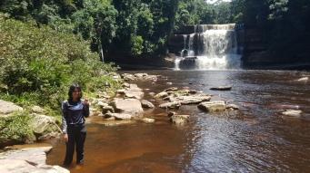 The highlight - magnificent Maliau Falls!